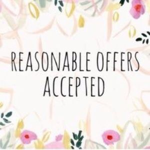 Other - All reasonable offers excepted